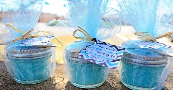 Sugar Scrub Baby Shower Favor Idea 570 x 297