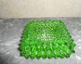 1930's Green Salt Dip Dish