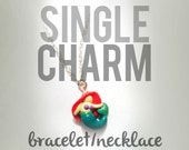 ANY CHARACTER Single Charm/Pendant Necklace, Bracelet OR Phone Charm Upon Request