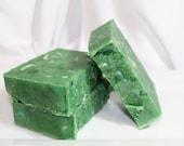 Cool Citrus Basil Soap Handmade Natural Shea Butter Moisturizing and Luxurious Single Bar