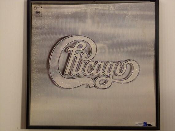 Glittered Record Album - Chicago
