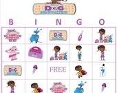 Doc McStuffins Bingo Instant Download
