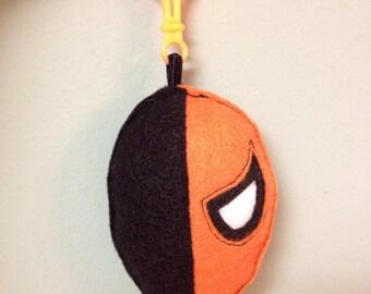 Deathstroke plush backpack clip DC Teen Titans/ornament