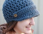 Brim Hat with Band