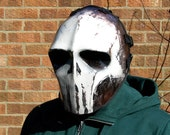 Army of Two v3 White Skull Style Airsoft Mask  - Made to order -