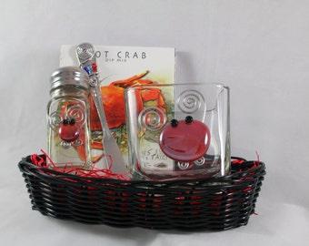 Crab Basket Gift Set