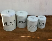 Industrial Kitchen Canisters