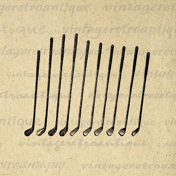 vintage golf clip art - photo #26