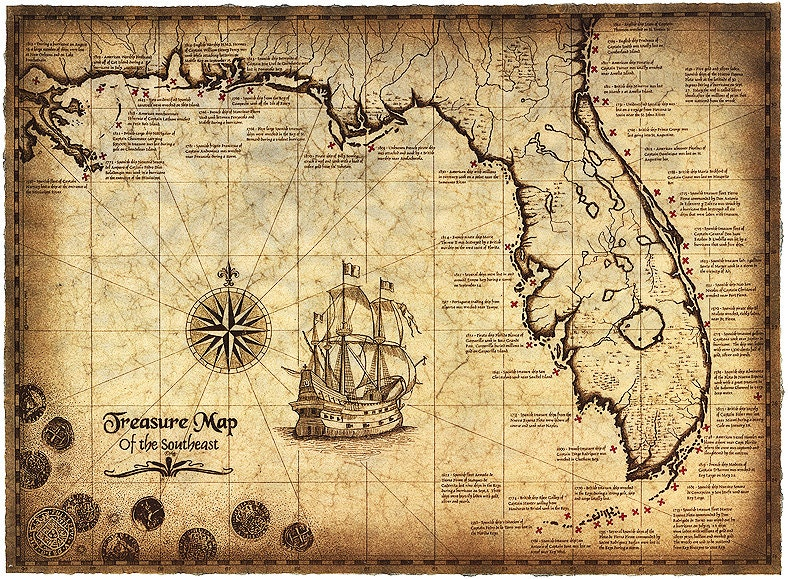 simple treasure maps vintage - photo #2