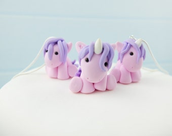 1x Horse or Unicorn necklace