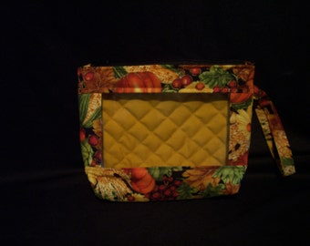 Small bag with window front