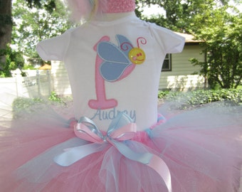 Personalized Butterfly birthday tee / bodysuit