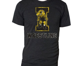 Iowa Wrestling - Triblack Tee