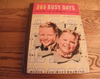 365 Busy Days by Whitman Publshing 1939
