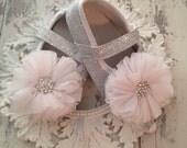 Cinderella Baby Girl Slipper shoes Newborn-18 months