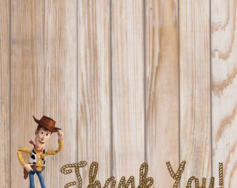 Woody/Toy Story Thank you card