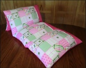 Pillow Bed made with John Deere fabric, Girl Pillow Bed, Pillow bed, Children's Pillow Bed, Pillow Mattress, Sleepover Bed