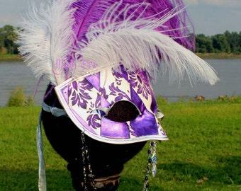 The Diva -Handmade Leather Mask