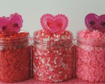 Heart Jewel Rings are cute added to your Valentine's Day treats.