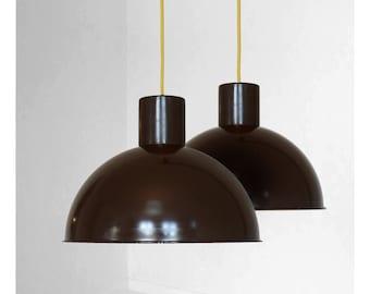 Brown Fog & Mørup, Bunker pendant, designed by Jo Hammerborg