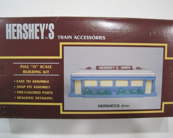 K Line Hershey's Diner O Gauge  Train Set Building Kit K-40812
