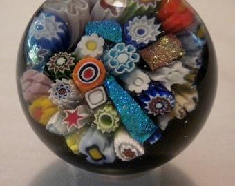 Milli & Dichroic Glass Marble