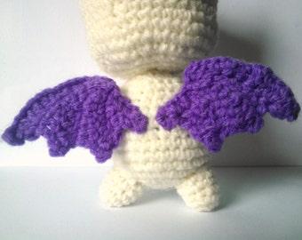 Flying Angel Pig Amigurumi Crochet Pattern : AMIGURUMI CHARMANDER PDF Pattern Instant Download