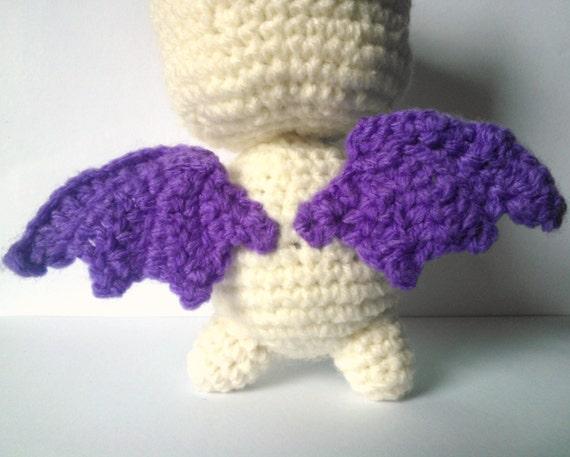 Crochet Baby Wings Pattern Free : WINGs Crochet Pattern PDF Instant Download