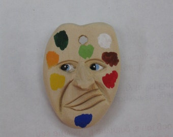Artist Palette with face