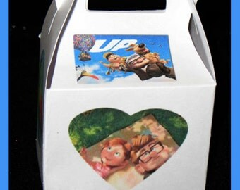 up favor box, up birthday favor box, up party favor box