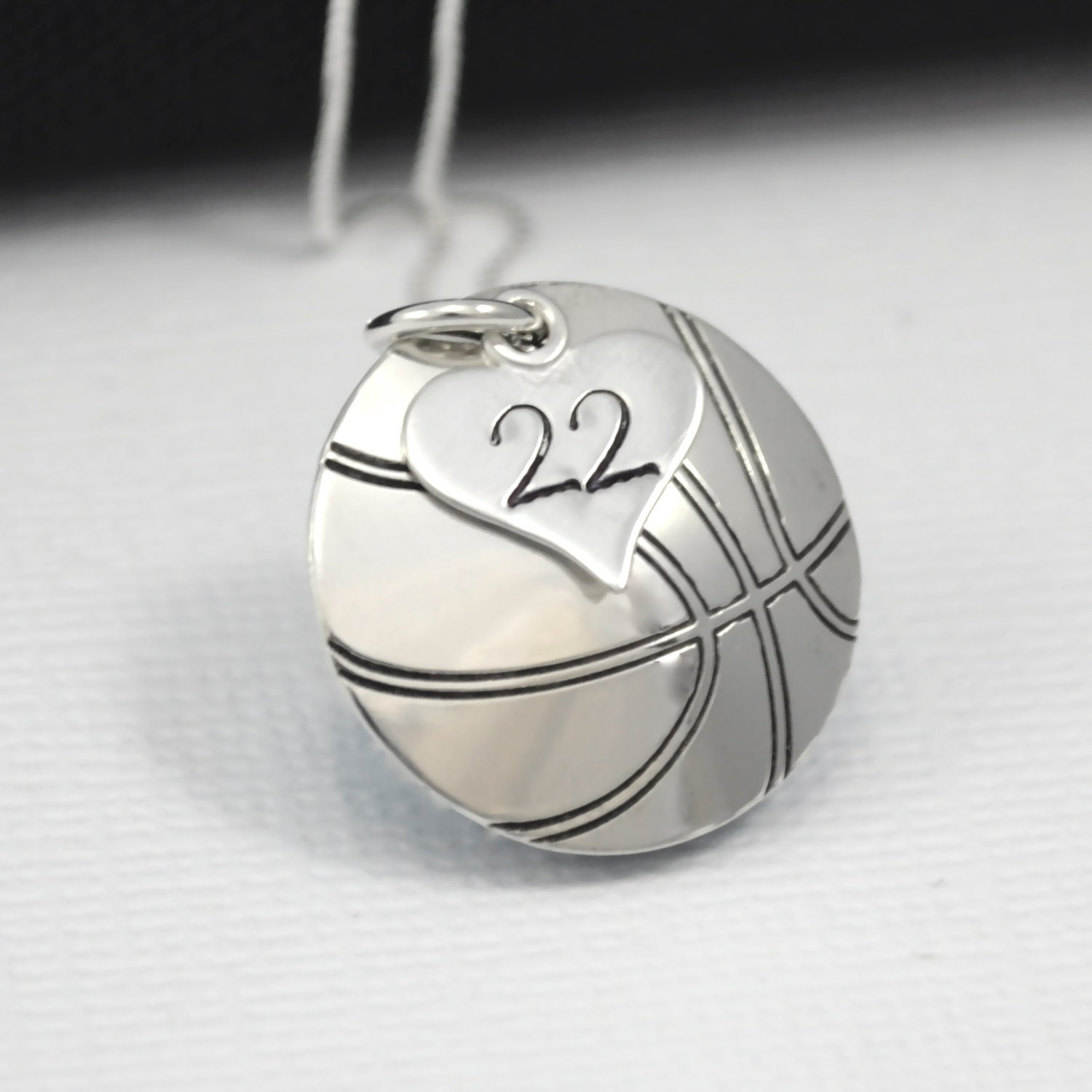 Handstamped Basketball Necklace With Heart Charm Stamped With. Bead Necklace. Mens Bracelet. Big Engagement Rings. Crazy Rings. Petrified Wood Engagement Rings. Sweet Alhambra Pendant. New Sapphire. Blue Diamond Sapphire
