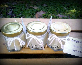 100 Mini Soy Candles Bulk Wedding Favors By Starlightroom