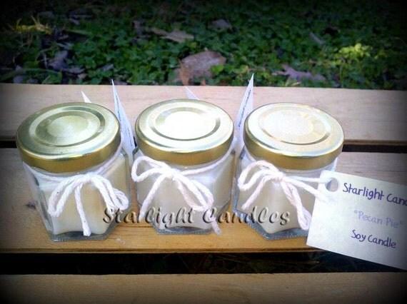 35 mini soy candles bulk wedding favors personalized. Black Bedroom Furniture Sets. Home Design Ideas