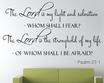 Psalm 27 1 | Etsy