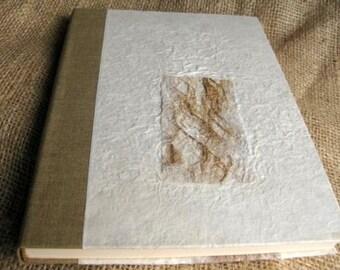 Wedding Guest Book Marriage Handicraft Kozo White Ornament