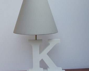 Handmade Storm Grey Lamp Shade
