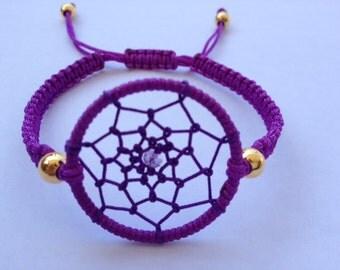 Colorful Dream Catcher Friendship Bracelet