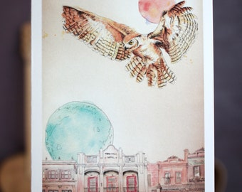 The Melbourne Al | Greeting card