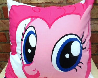 My Little Pony Pinkie Pie Friendship is Magic Brony Cushion 2 - handmade by Alien Couture