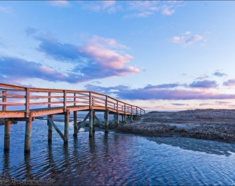 Ridgevale Beach Chatham, Cape Cod Sunset, Chatham Sunset, Cape Cod Photography, Fine Art Print