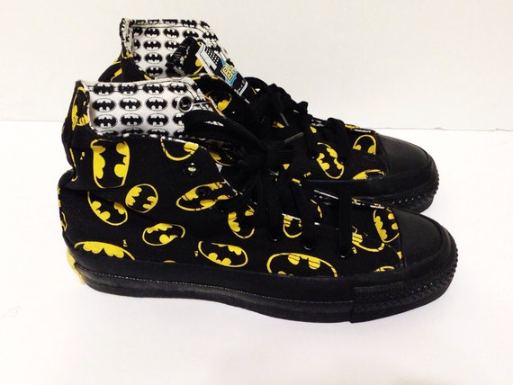 Details about Vintage 80s Batman CONVERSE All Star High Top Dead Stock ...