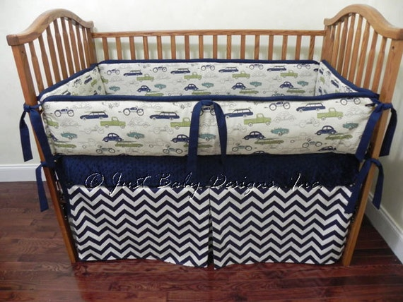 Custom Baby Bedding Set Zachary Boy Baby Bedding Vintage