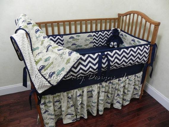 Custom Baby Bedding Set Shelton Boy Baby Bedding Vintage