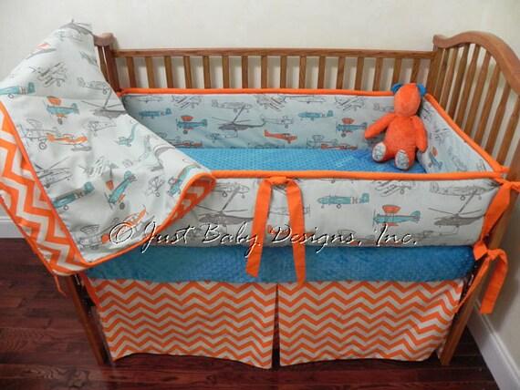 Custom Baby Bedding Set Wright Boy Baby By Babybeddingbyjbd