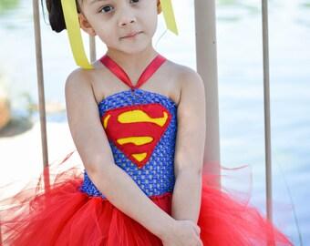 Supergirl tutu dress