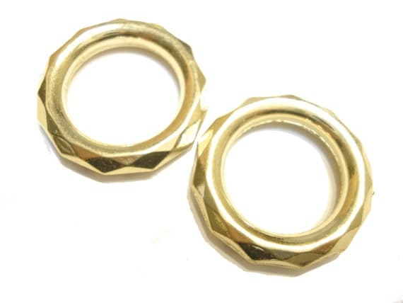 scarf jewelry fancy scarf rings gold tone 4 style 8 40pcs
