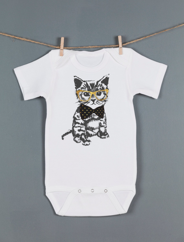 Sale Cat Baby e Piece Hipster Kitten Bodysuit Baby