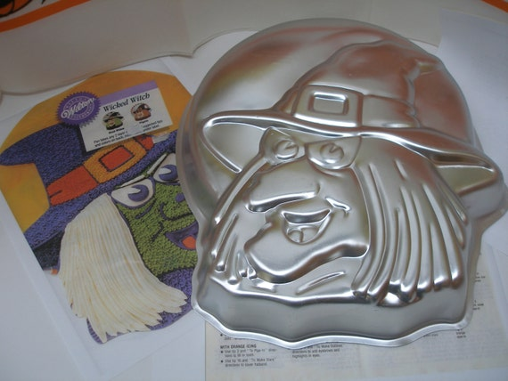 Spooky Wicked Witch Cake Pan By Wilton By Maryannescottage