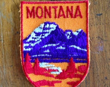 Montana Vintage Travel Patch by Voyager