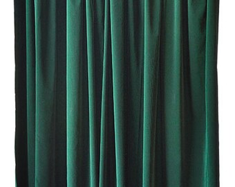 Green Velvet Curtains For Sale Retro Curtains for Sale